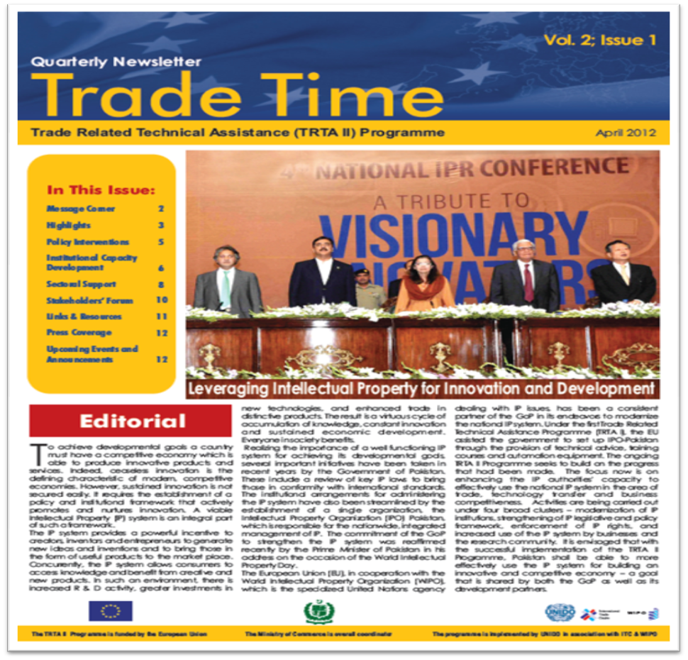 Trade Time - Vol. 2; Issue 1