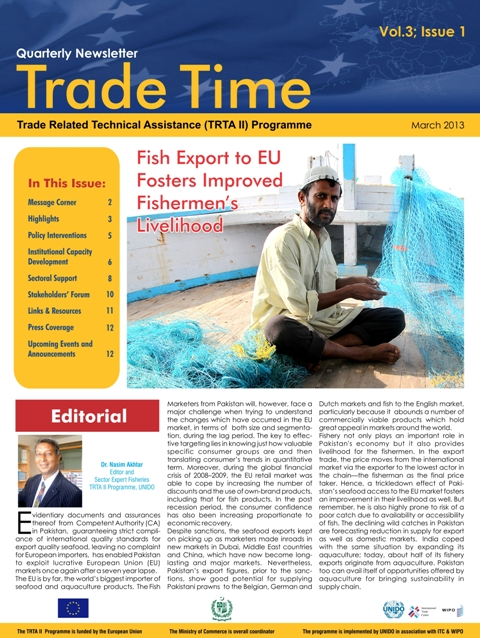 Trade Time - Vol 3; Issue 1