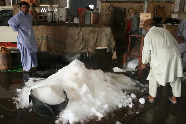 Baluchistan - Ice for Fish handling