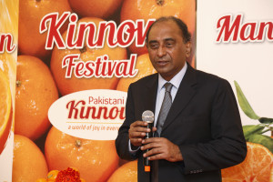 Mr. Syed Hassan Raza, High Commissioner in Malaysia, addressing the partecipants