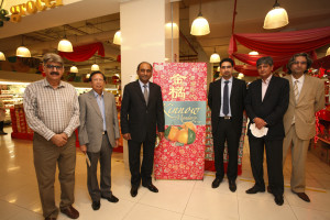 From left Mr. Niaz Khan, UNHC, Mr Dato, former HC of Malaysia to Pakistan, the HC, Mr. Haider, Mr. Badar and Mr. Kundi