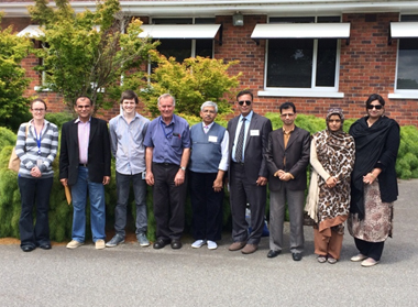 Group Photo of the FSC&RD trainees at the Seed Testing Laboratory, Launceston