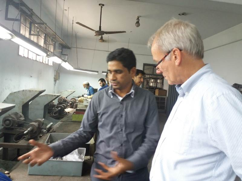 Inspecting Polishing Section-Surgical sector