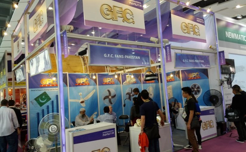 GFC Booth at Canton Fair China