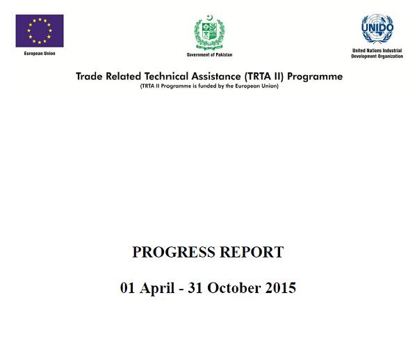 progress-report-april-october-2015